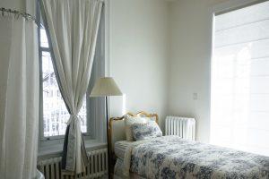 slaapkamer doeken hemelbed